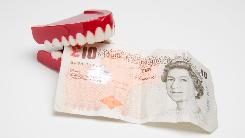 clear braces cost uk